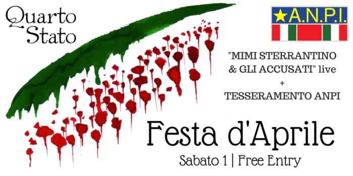 Festa d'Aprile ANPI Mimi Sterrantino