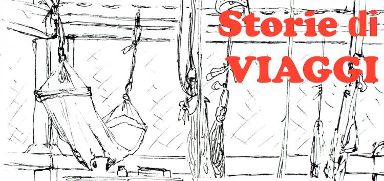 """Lunedì 5 Marzo. Presentazione della mostra """"Storie di Viaggi - 4 mesi e 4 paesi"""" con i disegni e schizzi del viaggio di Delia Cattorini nel sud-est asiatico."""