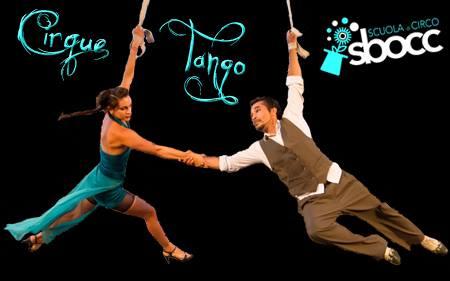 Rassegna CircoTeatro - CirqueTango. Compagnia argentina di tango e acrobatica aerea al Circolo Quarto Stato