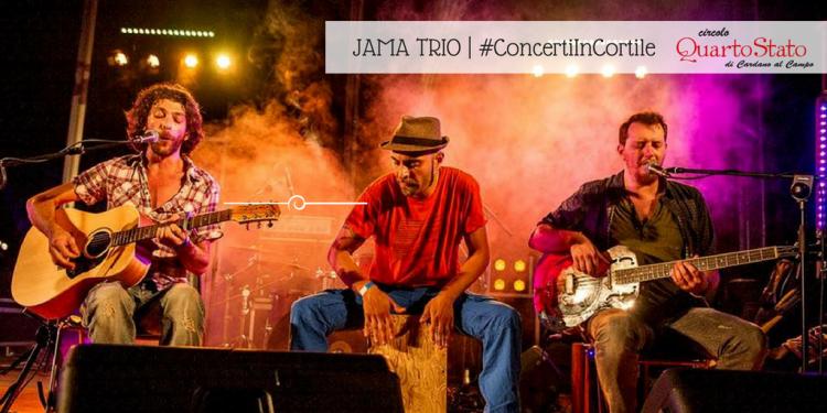 JAMA TRIO Concerti in cortile al Circolo Quarto Stato