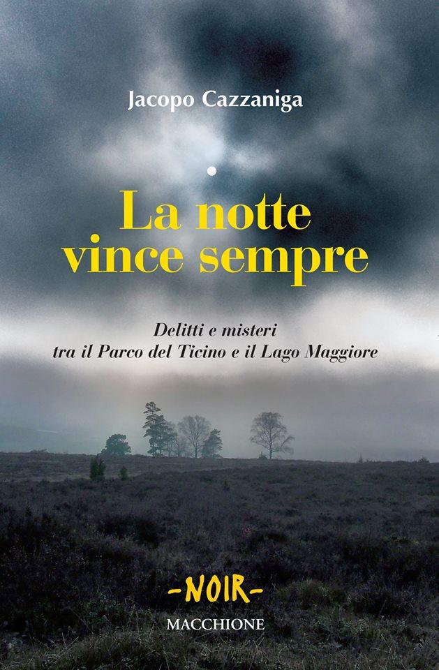 LA NOTTE VINCE SEMPRE è l'opera d'esordio di Jacopo Cazzaniga. Lo presenterà con uno speciale terzetto musicale.