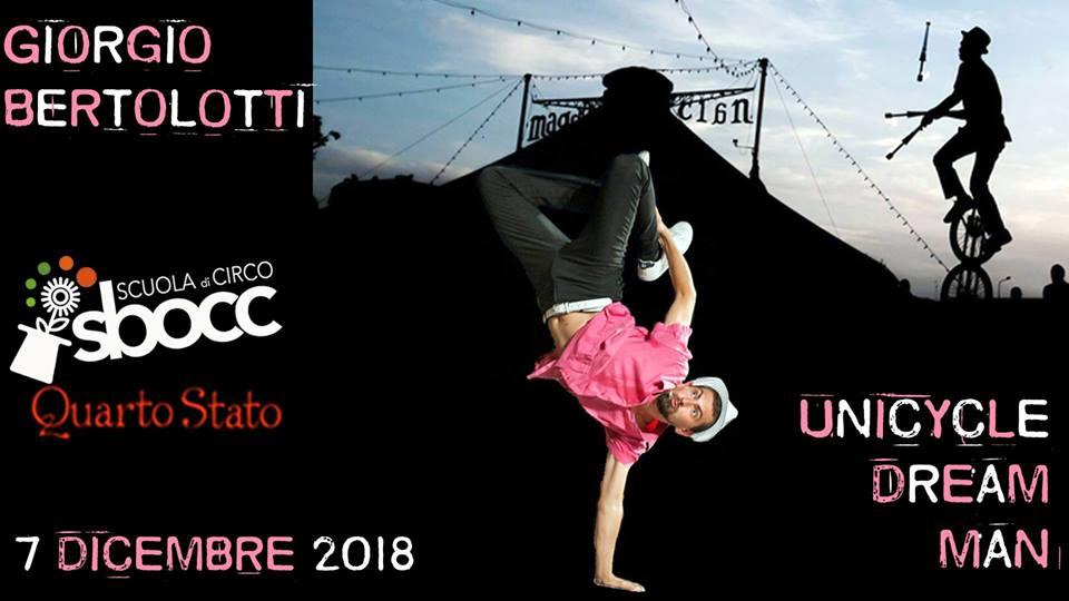NUOVO APPUNTAMENTO CON LA NOSTRA PIU' LONGEVA RASSEGNA: CircoTeatro con Giorgio Bertolotti