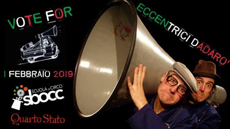 Ogni mese artisti da tutto il mondo per straordinari spettacoli di Circo Contemporaneo con la direzione artistica della Scuola di Circo Sbocc.