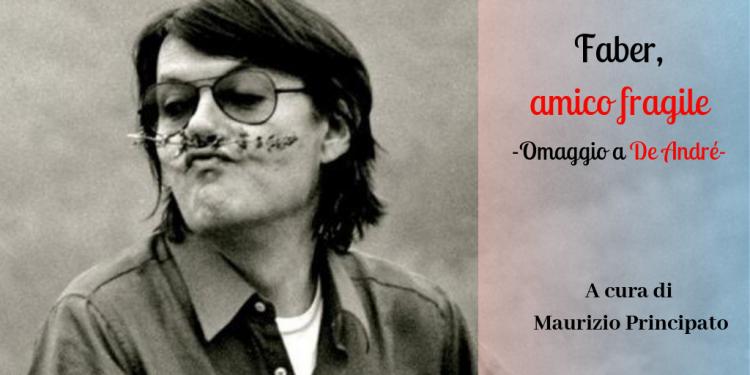 MAURIZIO PRINCIPATO (RADIO POPOLARE) IN UNO STORYTELLING MUSICALE DEDICATO A FABRIZIO DE ANDRE'.