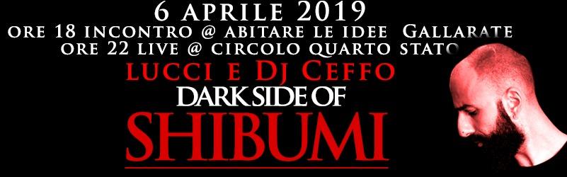 Come una luce nell'ora più buia. LUCCI (BROKENSPEAKERS) live per aprire la Festa d'Aprile 2019