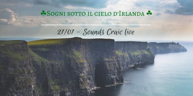 SOGNI SOTTO IL CIELO D'IRLANDA. Serata di musica folk e menù Irlandese con i Sound Craic al Circolo Quarto Stato di Cardano al Campo