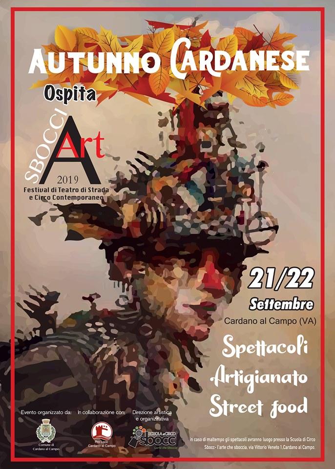 Cardano al Campo Sbocciart 2019 Circo teatro Circo urbano Street Festival