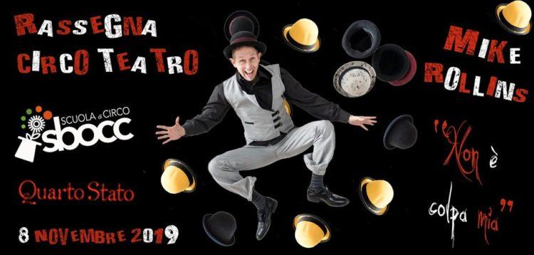 Ogni mese artisti da tutto il mondo per straordinari spettacoli di Circo Contemporaneo con la direzione artistica di Marco Raparoli e Luana Facchetti della Scuola di Circo Sbocc.