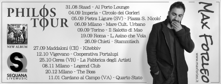 Max Forleo live | Philos tour