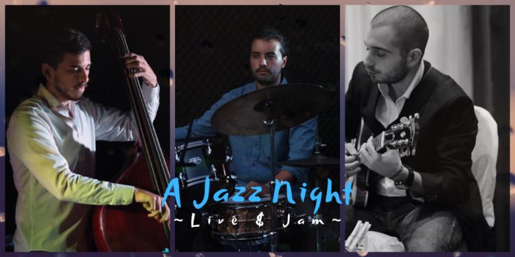 A JAZZ NIGHT | live + jam Nuovo anno per le Jam Session Jazz del Circolo che diventano ancora più grandi e ambiziose. Da quest'anno la nuova formula LIVE CON I MIGLIORI JAZZISTI + JAM SESSION finale.