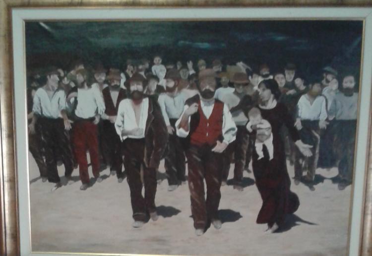 In questi (strani) giorni se n'è andato Eligio Cerutti, pittore cardanese. Eligio, Elice come si firmava sulle sue opere, lo conoscevamo attraverso i suoi quadri, soprattutto attraverso due dei suoi quadri.
